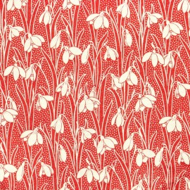 Tissu Liberty Hesketh B rose x 10cm