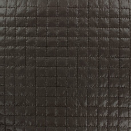 Quilted Fabric Carrés - brown x 10cm