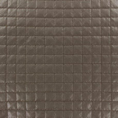 Quilted Fabric Carrés - taupe x 10cm