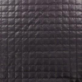 Tissu matelassé carrés violet x 10cm