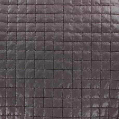 Tissu matelassé carrés mauve x 10cm