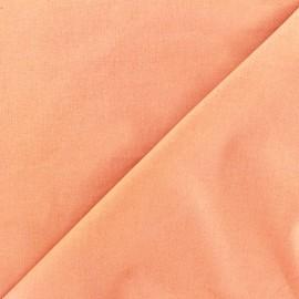 Poplin Fabric - peach x 10cm