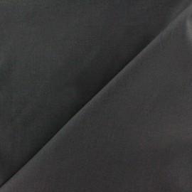 Tissu Popeline gris anthracite x10cm