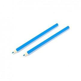 Crayon Craie pour tissu bleu - lot de 2