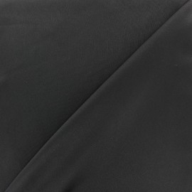 Microfiber touch silk Fabric - black x 10cm