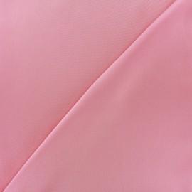 Tissu microfibre touché soie rose x 10cm