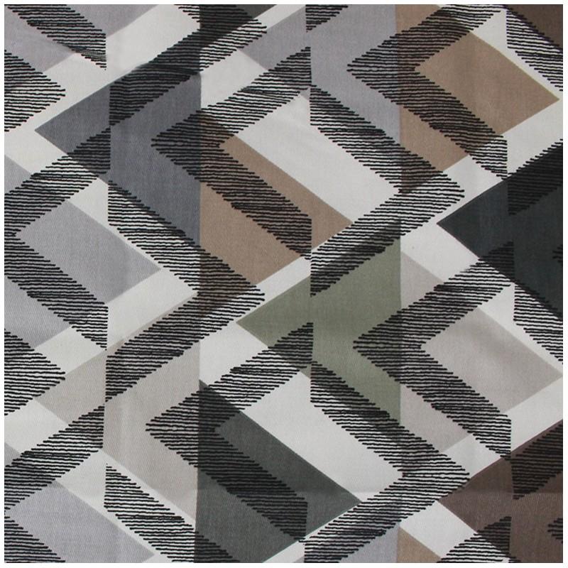 tissu serg de coton scandinave couleur naturel mpm. Black Bedroom Furniture Sets. Home Design Ideas