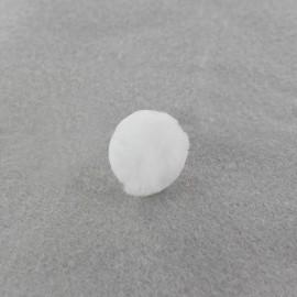 Pompon Bubble blanc