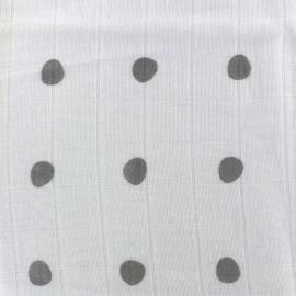 ♥ Coupon 200 cm X 120 cm ♥ Muslin cotton fabric Pas chiche
