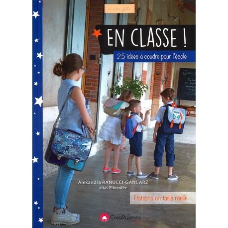 """Livre """"En classe - 25 idées à coudre pour l'école"""""""