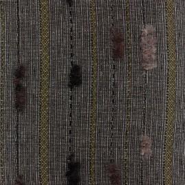 Tissu lainage léger Grady moutarde x 10cm