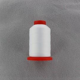 Cône de fil mousse pour surjeteuse 1000 m - blanc