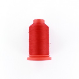 Cone of Serging-overlock foam thread 1000 m n°100 - red