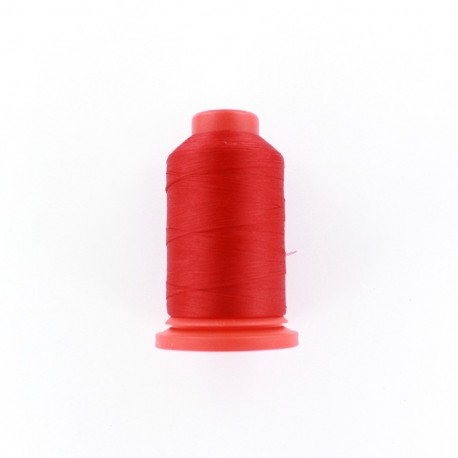 Cone of Serging-overlock foam thread 1000 m n°100 - red