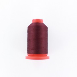 Cone of Serging-overlock foam thread 1000 m n°100 - dark red