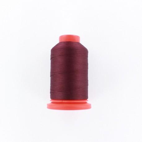 Cone of Serging-overlock foam thread 1000 m n°100 - dark red