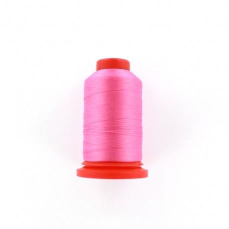 Cone of Serging-overlock foam thread 1000 m n°100 - pink