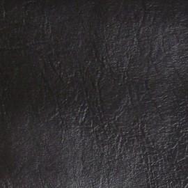Simili cuir frappé noir x 10cm
