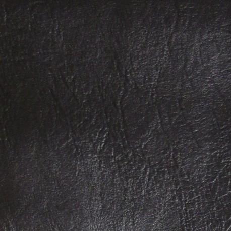 Simili cuir frappé noir