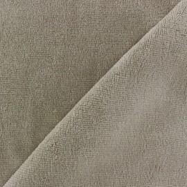 Tissu Micro-éponge Bambou - lin x 10cm