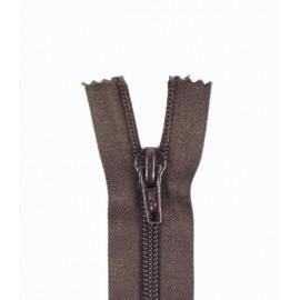 Fermeture Eclair® SEPARABLE nylon fine 5 mm - brou de noix