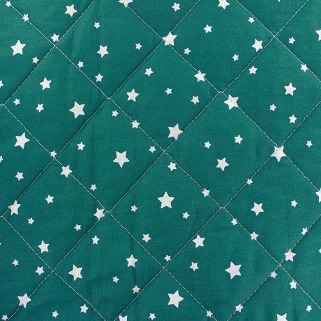 Quilted cotton fabric Scarlet - duck x 10cm