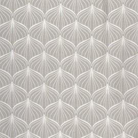 Tissu enduit coton Alli grey x 10cm