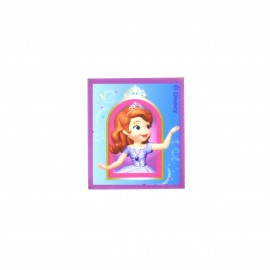 Sofia the First canvas Iron-on patch  - blue