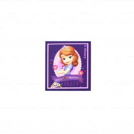 ♥ Sofia the First Smart Princesses canvas Iron-on patch  - purple ♥