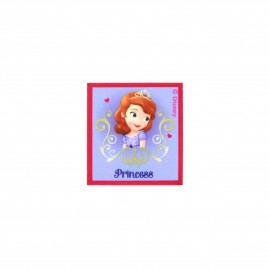 ♥ Sofia the First Love canvas Iron-on patch  - purple ♥