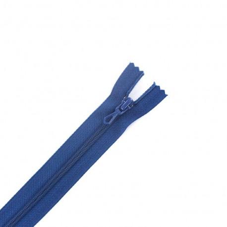 fermeture Eclair non séparable - bleu bugatti