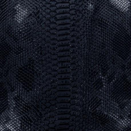 Imitation leather Comodo - night blue x 10cm