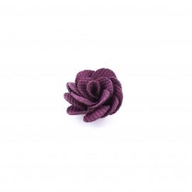 Camellia to glue/to sew - plum