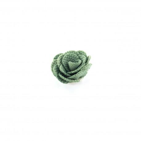 Camellia to glue/to sew - asparagus