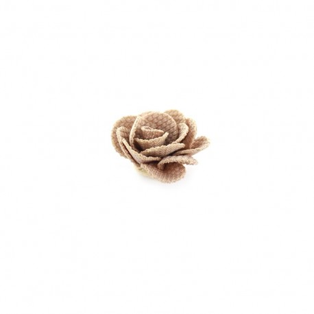 Camellia to glue/to sew - light taupe