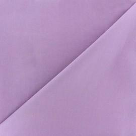 Tissu Popeline parme x10cm