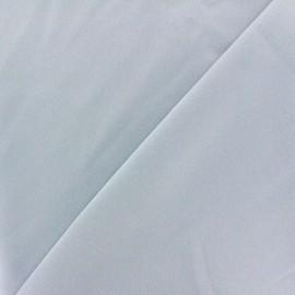 Tissu crêpe envers satin gris clair x 10cm
