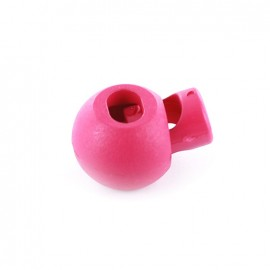 Arrêt cordon boule rose vif