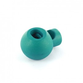 Arrêt cordon boule vert