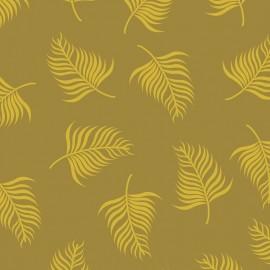 """Tissu Camelot Fabrics """"Fern in golden"""" x 10cm"""