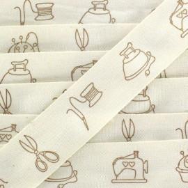 Dressmaker Ribbon - beige