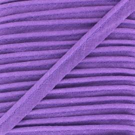 Passepoil tout textile violet