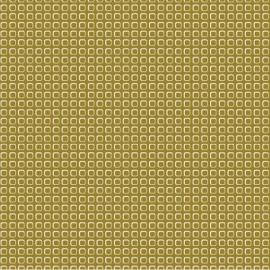 Tissu coton enduit Vintage olive x 10 cm