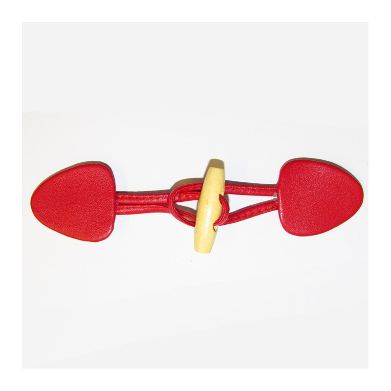 Boutons mercerie boutons brandebourg simili cuir rouge for Brandebourg mercerie