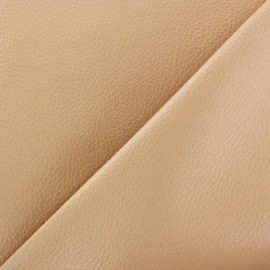 Imitation leather Karia - sand x 10cm
