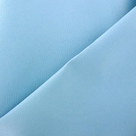 Simili cuir Karia bleu ciel x 10cm
