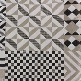 Tissu Scénario patch géométrique x 25cm