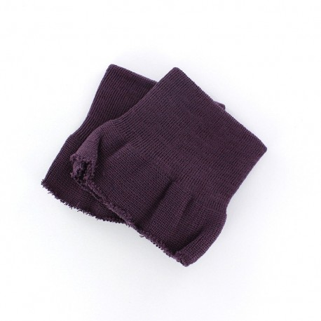 Wrist ribbing - purple