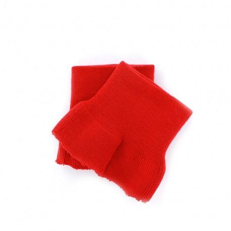 Wrist ribbing - red