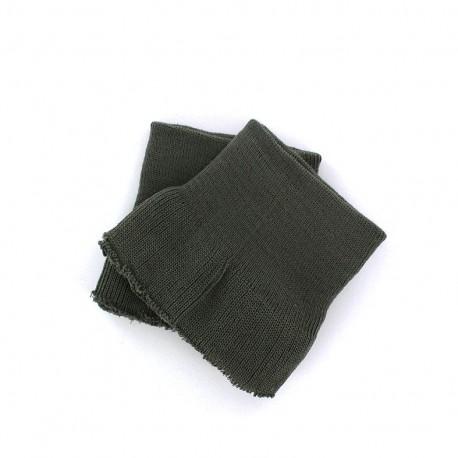 Wrist ribbing - dark grey